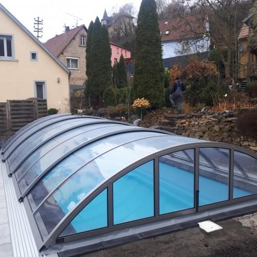 zadaszenie ogrodowego basenu