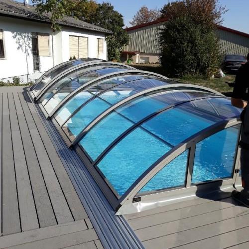 zadaszenie prywatnego basenu